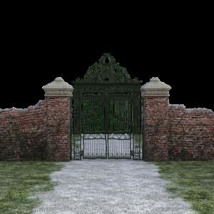 brama dojazdowa
