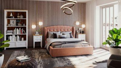 Poznaj zalety tapicerowanych łóżek